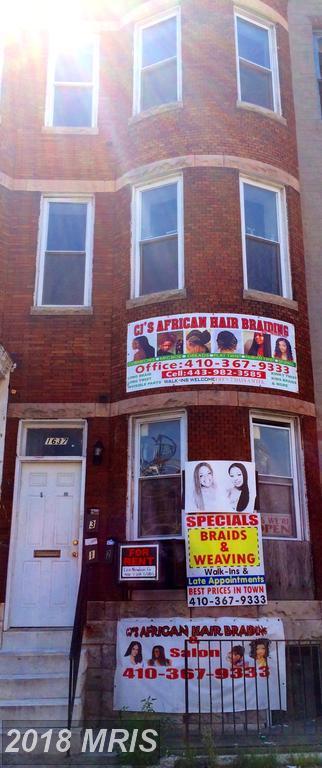 1637 North Avenue, Baltimore, MD 21217 (#BA10183882) :: SURE Sales Group