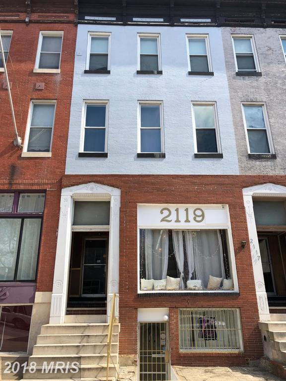 2119 Charles, Baltimore, MD 21218 (#BA10185988) :: Arlington Realty, Inc.