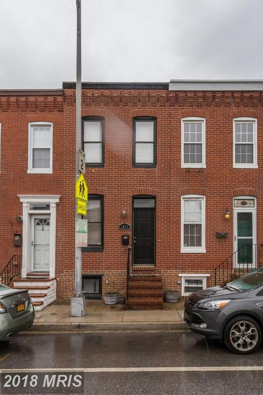 1817 Hanover Street, Baltimore, MD 21230 (#BA10187098) :: The Sebeck Team of RE/MAX Preferred
