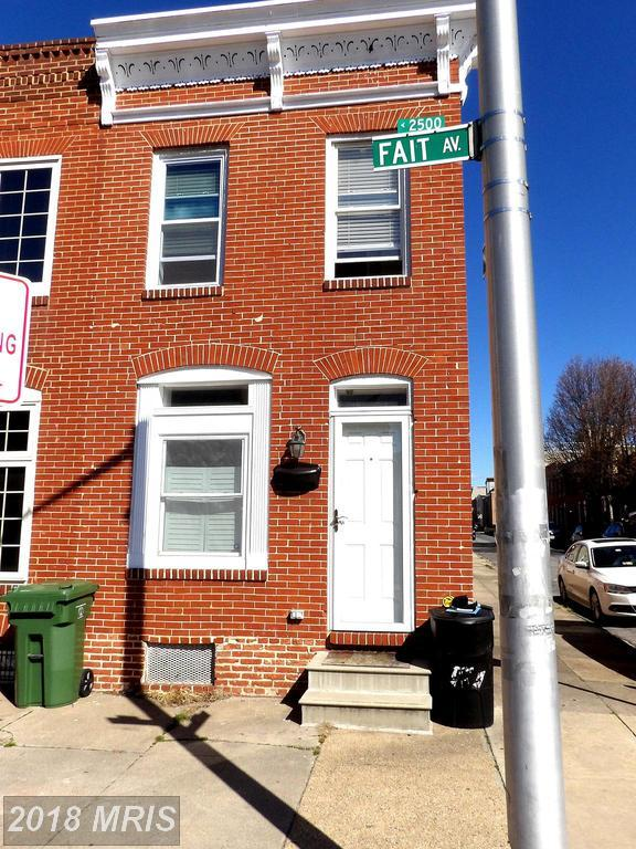 2520 Fait Avenue, Baltimore, MD 21224 (#BA10187978) :: CR of Maryland
