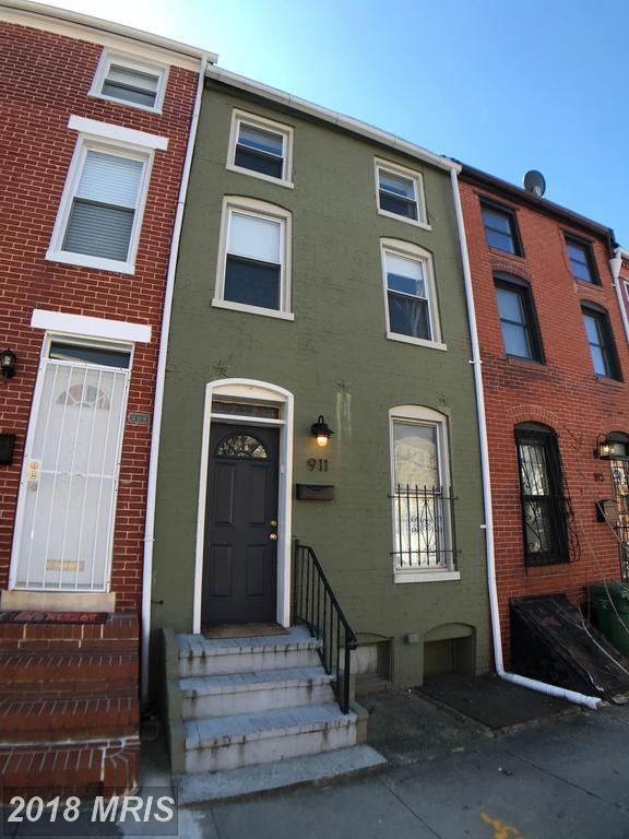 911 Lombard Street W, Baltimore, MD 21223 (#BA10188089) :: Bob Lucido Team of Keller Williams Integrity