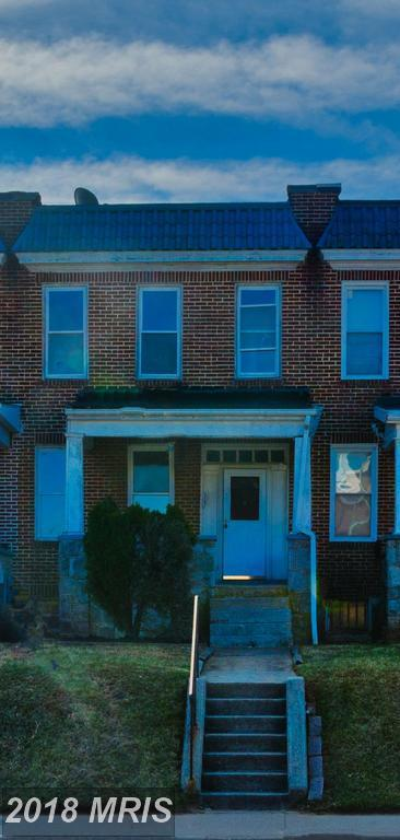 2849 Cold Spring Lane W, Baltimore, MD 21215 (#BA10188400) :: Blackwell Real Estate