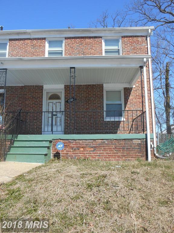 2500 Oakley Avenue, Baltimore, MD 21215 (#BA10189595) :: The Sebeck Team of RE/MAX Preferred