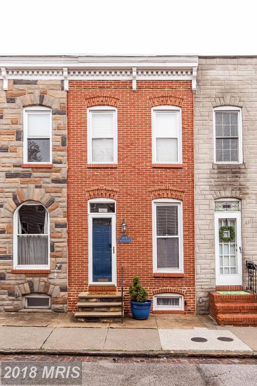 1409 Covington Street, Baltimore, MD 21230 (#BA10211696) :: The Miller Team