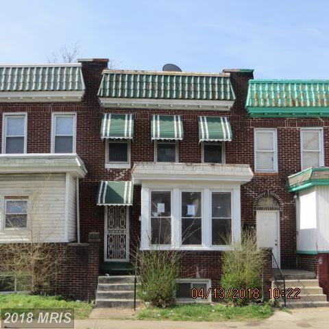 803 Bonaparte Avenue, Baltimore, MD 21218 (#BA10212517) :: The Bob & Ronna Group