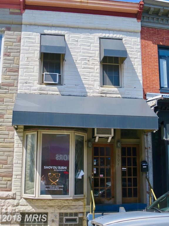 1504 Light Street, Baltimore, MD 21230 (#BA10213886) :: The Miller Team
