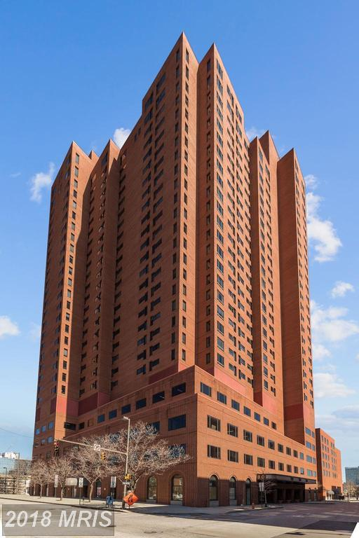 10 Lee Street #1509, Baltimore, MD 21202 (#BA10214304) :: ExecuHome Realty