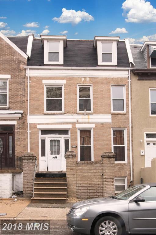 2449 Calvert Street, Baltimore, MD 21218 (#BA10214477) :: The Bob & Ronna Group