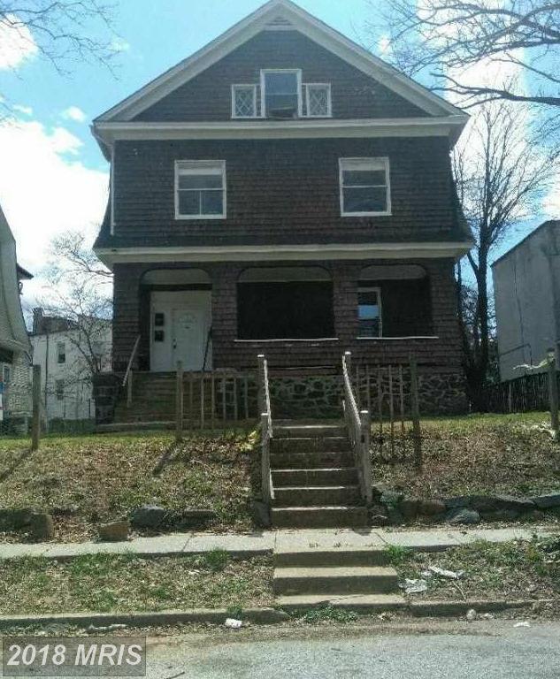 3507 Powhatan Avenue, Baltimore, MD 21216 (#BA10214881) :: LoCoMusings