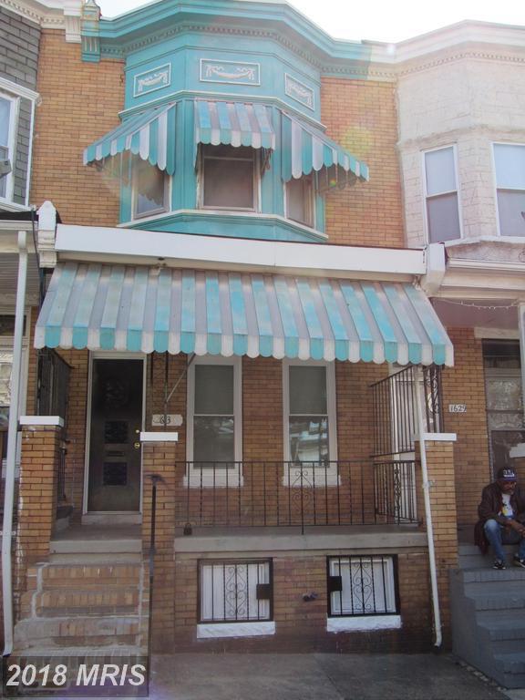 1631 Monroe Street, Baltimore, MD 21217 (#BA10217588) :: RE/MAX Gateway