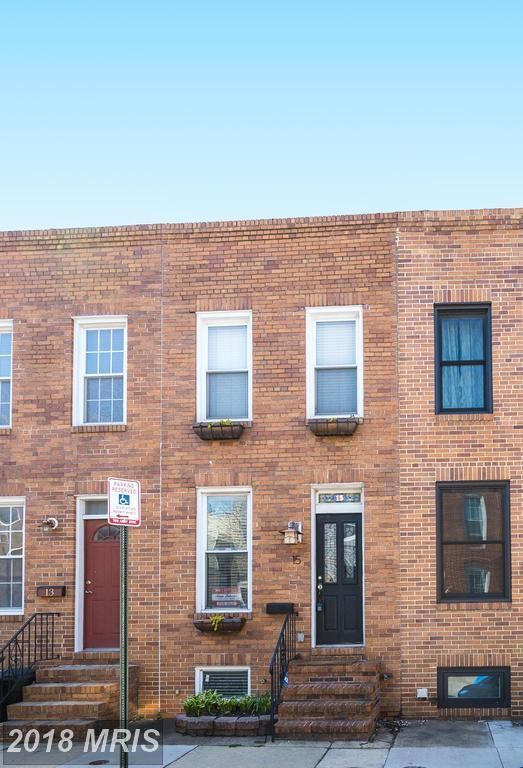 15 Barney Street W, Baltimore, MD 21230 (#BA10218188) :: ExecuHome Realty