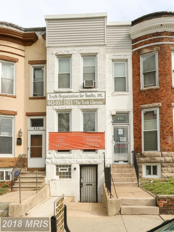 416 25TH Street E, Baltimore, MD 21218 (#BA10221726) :: Bob Lucido Team of Keller Williams Integrity