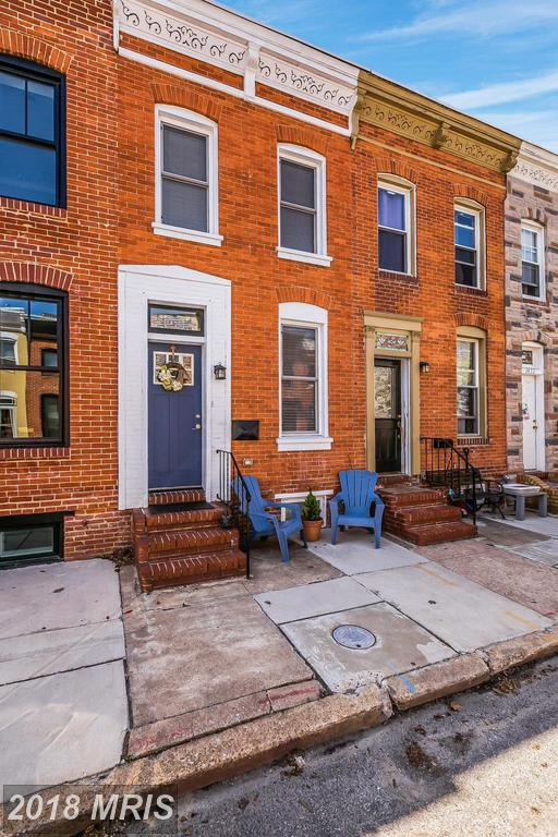 1436 Reynolds Street, Baltimore, MD 21230 (#BA10228459) :: The Dailey Group