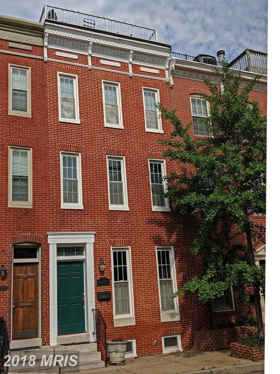 1404 William Street, Baltimore, MD 21230 (#BA10238469) :: Dart Homes
