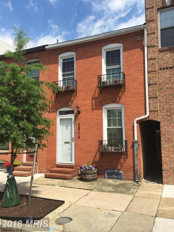 2416 Fleet Street, Baltimore, MD 21224 (#BA10240665) :: Dart Homes