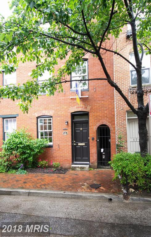 1723 Lancaster Street, Baltimore, MD 21231 (#BA10244255) :: The Sebeck Team of RE/MAX Preferred