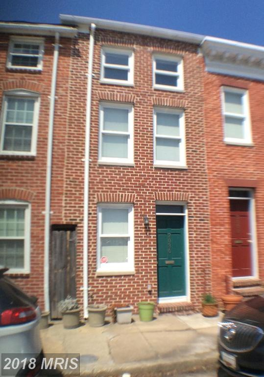 2036 Fountain Street, Baltimore, MD 21231 (#BA10245481) :: The Sebeck Team of RE/MAX Preferred