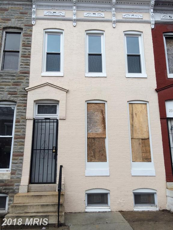 2336 Druid Hill Avenue, Baltimore, MD 21217 (#BA10246516) :: Frontier Realty Group