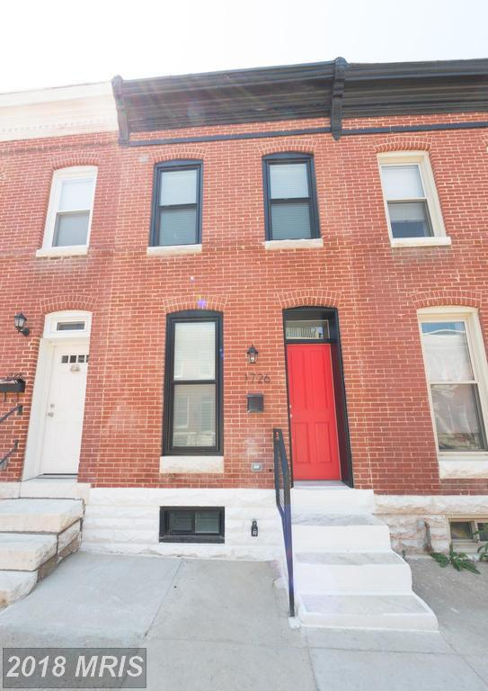 1726 Clarkson Street, Baltimore, MD 21230 (#BA10247256) :: The Sebeck Team of RE/MAX Preferred