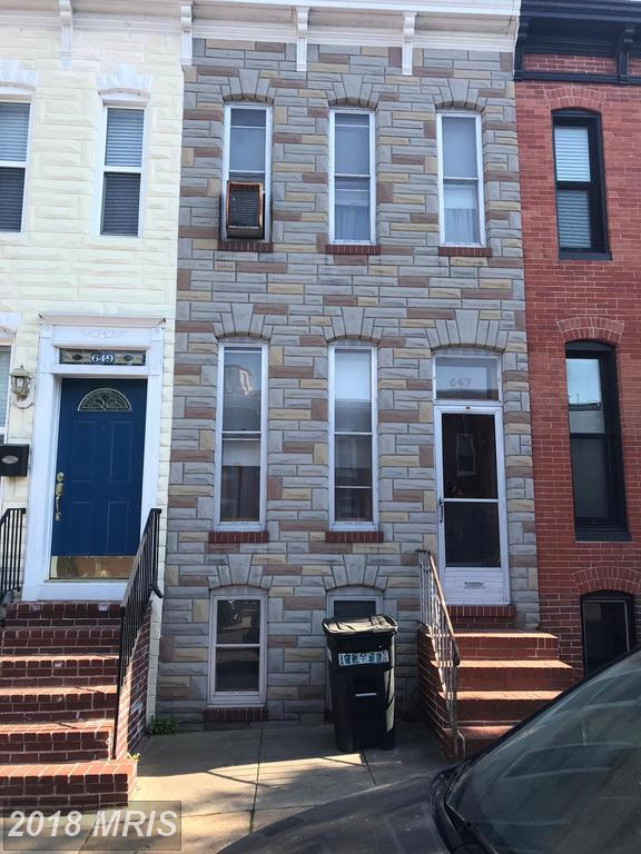 647 Clement Street, Baltimore, MD 21230 (#BA10250184) :: The Dailey Group