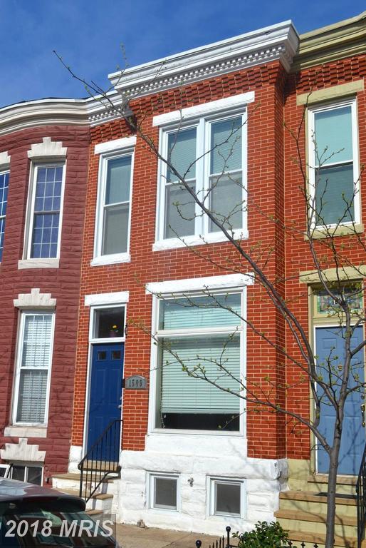 1509 Covington Street, Baltimore, MD 21230 (#BA10251762) :: The Dailey Group