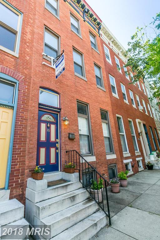 16 Chester Street N, Baltimore, MD 21231 (#BA10252329) :: SURE Sales Group