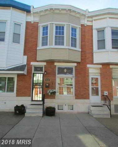 420 Macon Street, Baltimore, MD 21224 (#BA10259797) :: The Withrow Group at Long & Foster