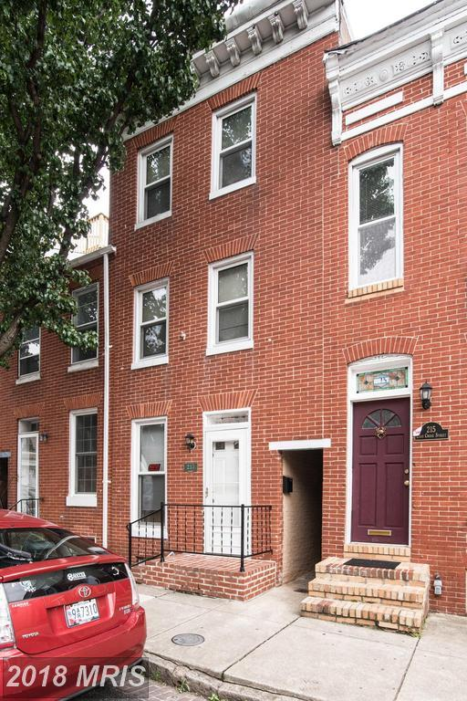 217 Cross Street, Baltimore, MD 21230 (#BA10277302) :: The Dailey Group