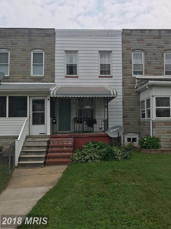532 Maude Avenue, Baltimore, MD 21225 (#BA10277313) :: RE/MAX Cornerstone Realty