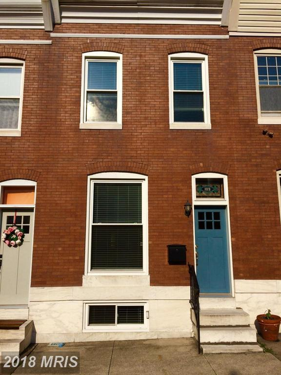109 Rochester Place, Baltimore, MD 21224 (#BA10278778) :: The Dailey Group
