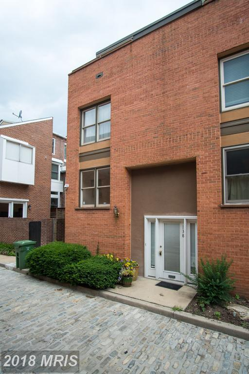 138 Welcome Alley Th3, Baltimore, MD 21201 (#BA10279373) :: SURE Sales Group