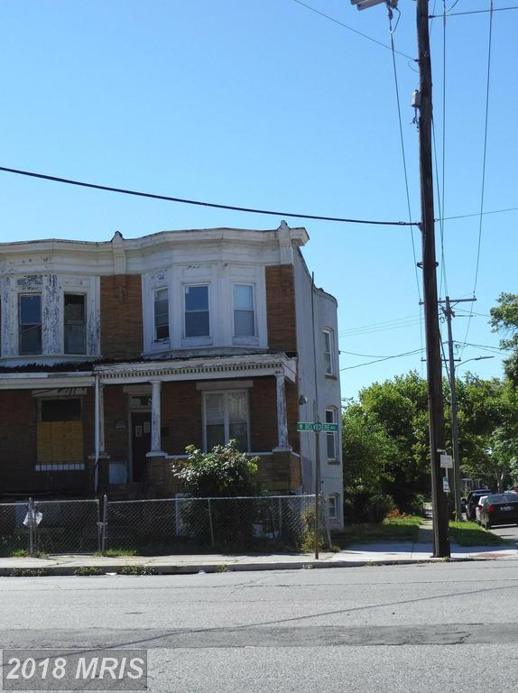 3355 Belvedere Avenue W, Baltimore, MD 21215 (#BA10292252) :: Bob Lucido Team of Keller Williams Integrity