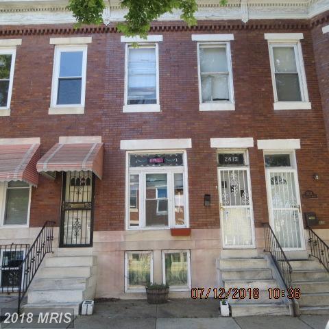 2415 Mcculloh Street, Baltimore, MD 21217 (#BA10300447) :: Keller Williams Pat Hiban Real Estate Group