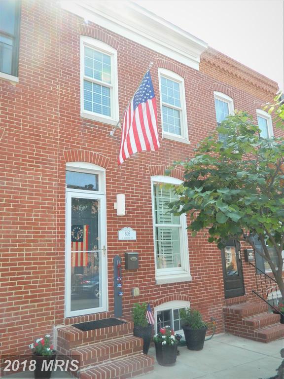 805 S Bouldin Street, Baltimore, MD 21224 (#BA10301047) :: Lucido Agency of Keller Williams