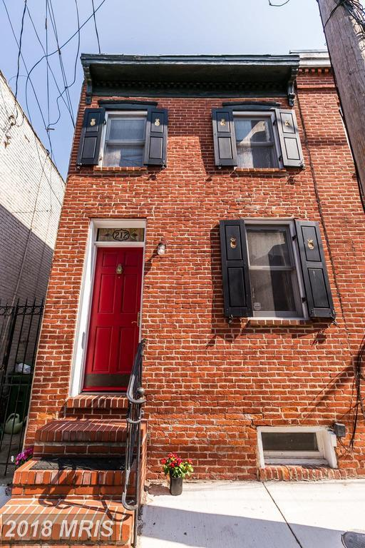 212 Churchill Street E, Baltimore, MD 21230 (#BA10302259) :: Charis Realty Group