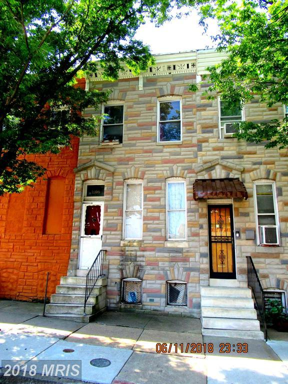 2105 Lexington Street, Baltimore, MD 21223 (#BA10305528) :: Zadareky Group/Keller Williams Realty Metro Center