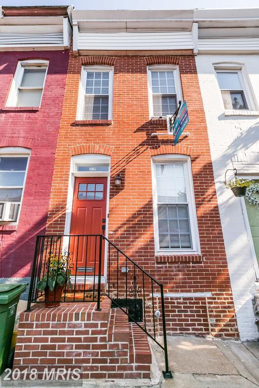 816 Woodward Street, Baltimore, MD 21230 (#BA10314116) :: SURE Sales Group