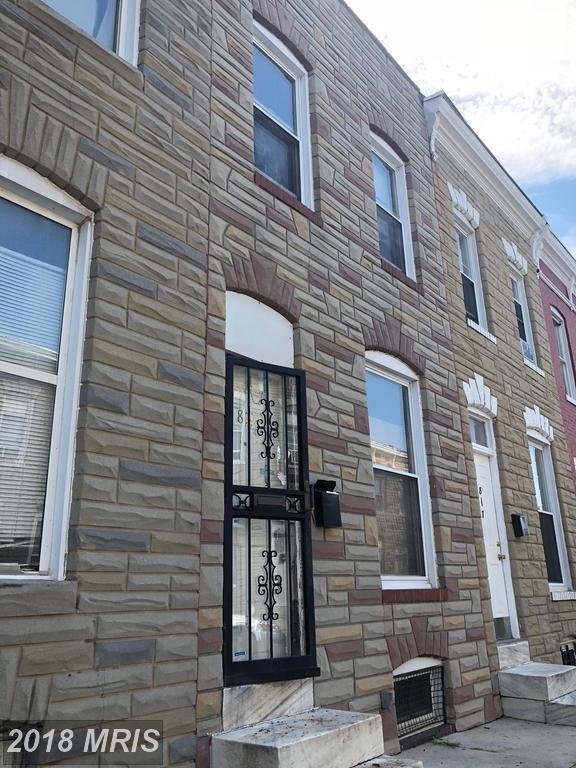 819 Port Street N, Baltimore, MD 21205 (#BA10320604) :: SURE Sales Group