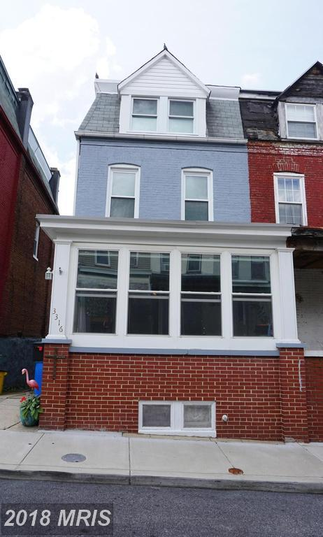 3316 Elm Avenue, Baltimore, MD 21211 (#BA10321069) :: The Dailey Group