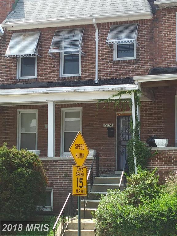 2018 Bentalou Street N, Baltimore, MD 21216 (#BA10323554) :: Bob Lucido Team of Keller Williams Integrity