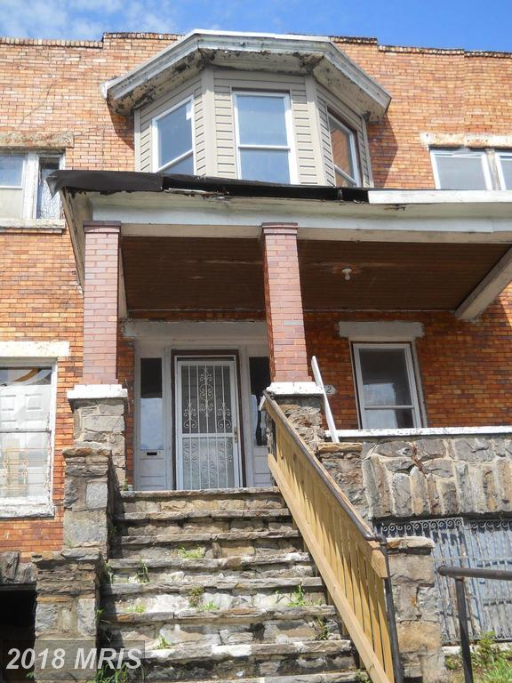 3412 Park Heights Avenue, Baltimore, MD 21215 (#BA10324866) :: The Dailey Group