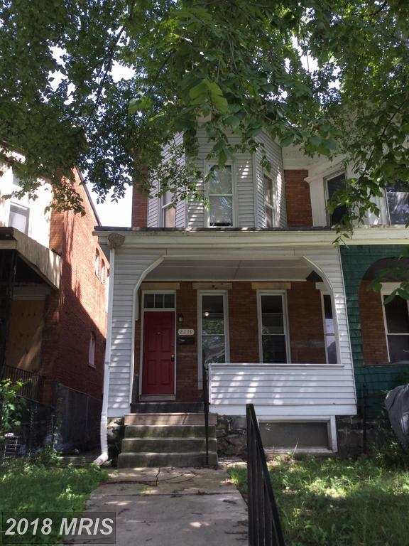 2219 Mount Holly Street, Baltimore, MD 21216 (#BA10325747) :: The Bob & Ronna Group