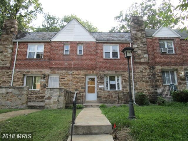 5706 Jonquil Avenue, Baltimore, MD 21215 (#BA10327108) :: Browning Homes Group