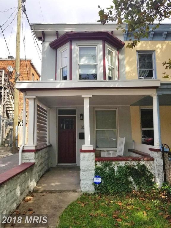 3537 Hickory Avenue, Baltimore, MD 21211 (#BA10346434) :: The Maryland Group of Long & Foster