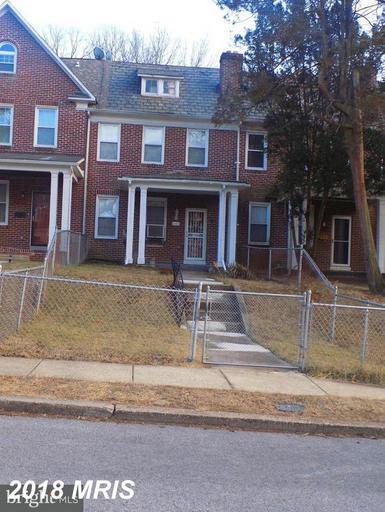 4011 Woodhaven Avenue, Baltimore, MD 21216 (#BA10351585) :: RE/MAX Gateway