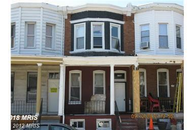 1706 Poplar Grove Street, Baltimore, MD 21216 (#BA10355516) :: The Maryland Group of Long & Foster