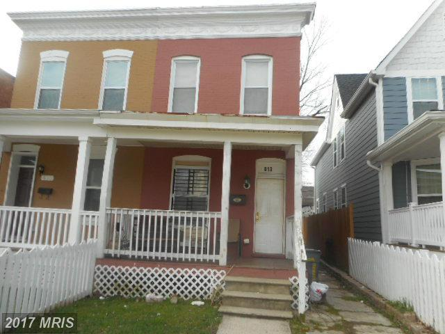 613 Dumbarton Avenue, Baltimore, MD 21218 (#BA9865696) :: LoCoMusings