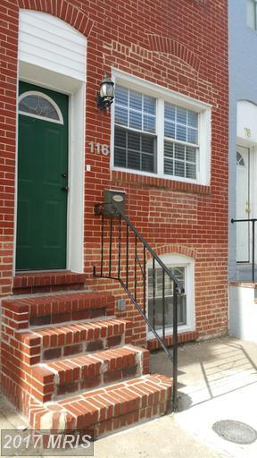 116 Glover Street N, Baltimore, MD 21224 (#BA9866476) :: Pearson Smith Realty