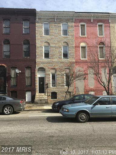 317 Fulton Avenue, Baltimore, MD 21223 (#BA9875242) :: LoCoMusings