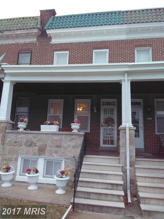 2330 Mosher Street, Baltimore, MD 21216 (#BA9893841) :: Pearson Smith Realty